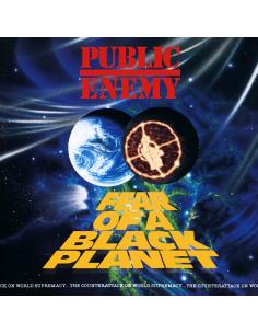 """VINILO LP PUBLIC ENEMY """"FEAR OF A BLACK PLANET"""""""