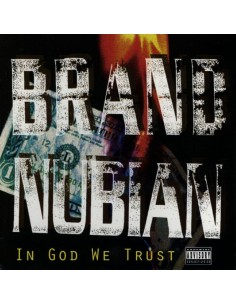 "VINILO 2LP BRAND NUBIAN ""IN GOD WE TRUST"""
