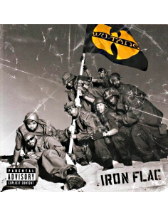 "VINILO 2LP WU-TANG CLAN ""IRON FLAG"""