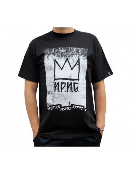 "Camiseta NO PAIN NO GAIN ""CROWN"" NEGRA"