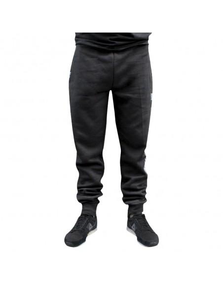 Pantalón Deporte NO PAIN NO GAIN LINED en algodón, color negro