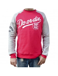 Sudadera NPNG DO OR DIE RED unisex en calgodón color rojo
