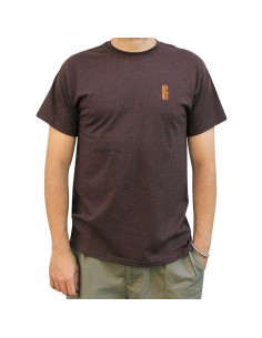 "Camiseta NO PAIN NO GAIN ""LOGO EMBROY"" RUSSET"