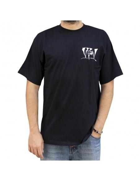 Camiseta VDV GENIOS99 unisex, en algodón color NEGRO