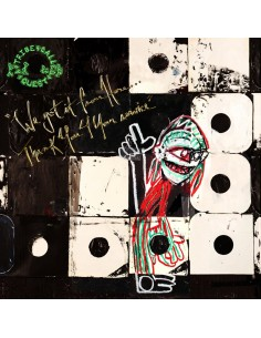 "VINILO 2LP A TRIBE CALLED QUEST ""WE GOT IT FROM HERE...THANK YOU 4 YOUR SERVICE"""