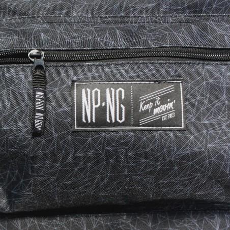 Mochila bagpack NPNG POLY en polyester, color NEGRO
