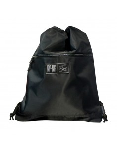 Mochila NPNG PITCH BLACK en polyester, color NEGRO