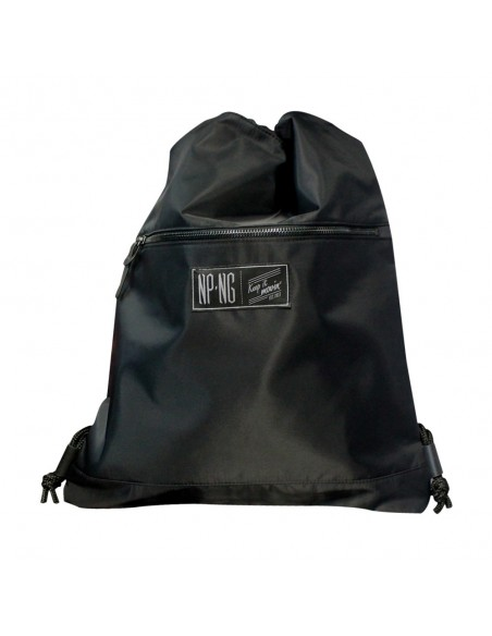 Mochila NPNG PITCH BLACK en polyester, color NEGRO