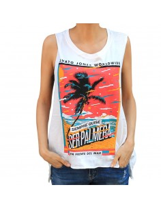 "Camiseta chica JAVATO JONES ""PALMERA"""