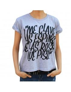 "Camiseta chica JAVATO JONES ""ESPINAS"""