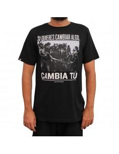 Camiseta JAVATO JONES SI QUIERES CAMBIAR