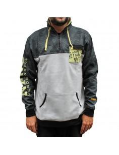Sudadera hombre NO PAIN NO GAIN SPORTGREY en algodón, color gris