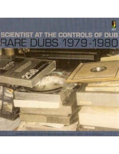 "VINILO LP SCIENTIST ""RARE DUBS 1979-1980"""