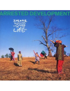 "VINILO LP ARRESTED DEVELOPMENT ""3 YEARS, 5 MONTHS AND 2 DAYS IN THE LIFE OF..."""