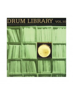 "VINILO LP DJ PAUL NICE ""DRUM LIBRARY VOL. 10"""