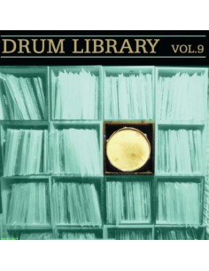 "VINILO LP DJ PAUL NICE ""DRUM LIBRARY VOL. 9"""