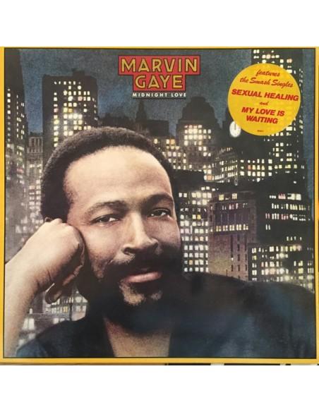"""VINILO LP MARVIN GAYE """"MIDNIGHT LOVE"""""""