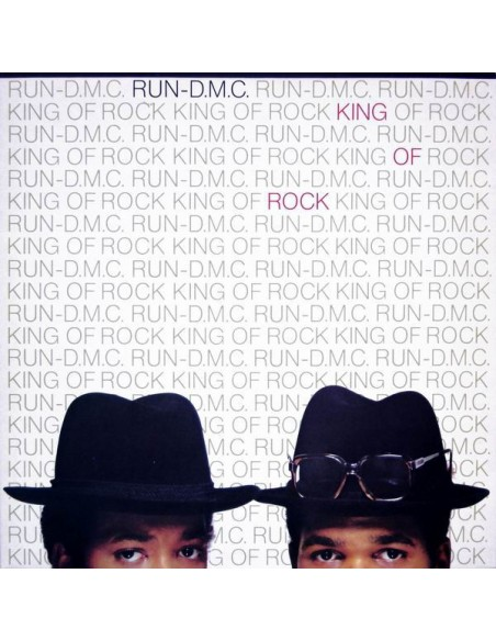 "VINILO LP RUN DMC ""KING OF ROCK"""