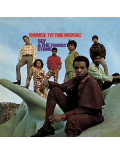 "VINILO LP SLY & THE FAMILY STONE ""DANCE TO THE MUSIC"""