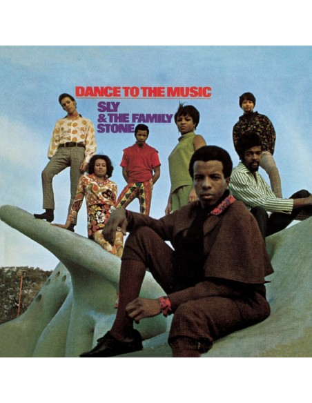 """VINILO LP SLY & THE FAMILY STONE """"DANCE TO THE MUSIC"""""""