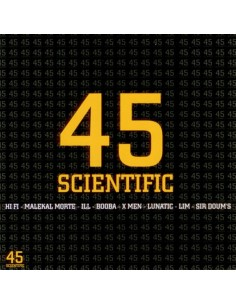 "VINILO 2LP RECOPILATORIO ""45 SCIENTIFIC"""