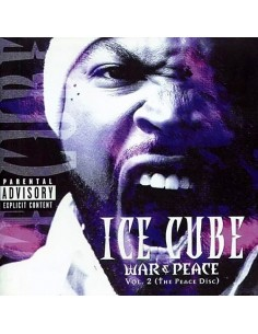 "VINILO 2LP ICE CUBE ""WAR & PEACE VOL.2 (THE PEACE DISC)"""
