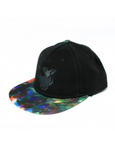 GORRA JAVATO JONES SUBLIMADA LOGO NEGRO