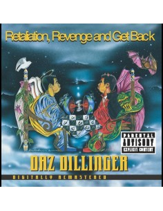 "CD DAZ DILLINGER ""RETALIATION, REVENGE AND GET BACK"""