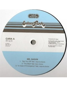 "VINILO EP MR.GAGUN ""SET YOU OFF"""