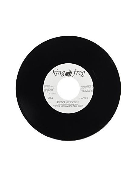 """VINILO 7"""" PRINCE MIKE & RAS MAC BEAN """"DON'T SIT DOWN"""""""