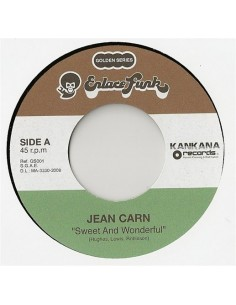 "VINILO 7"" JEAN CARN ""SWEET AND WONDERFUL"""