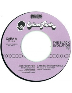 """VINILO 7"""" VARIOS ARTISTAS """"BLACK EVOLUTION EP"""""""