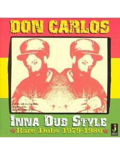 """VINILO LP DON CARLOS """"INNA DUB STYLE (RARE DUBS 1979-1980) """""""
