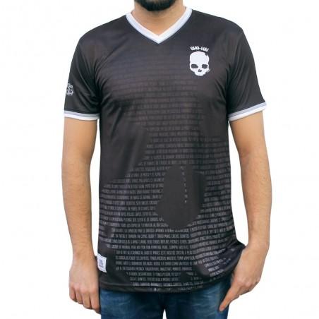 """Camiseta Soccer SHOHAI """"BORRACHOS"""" en color NEGRO"""