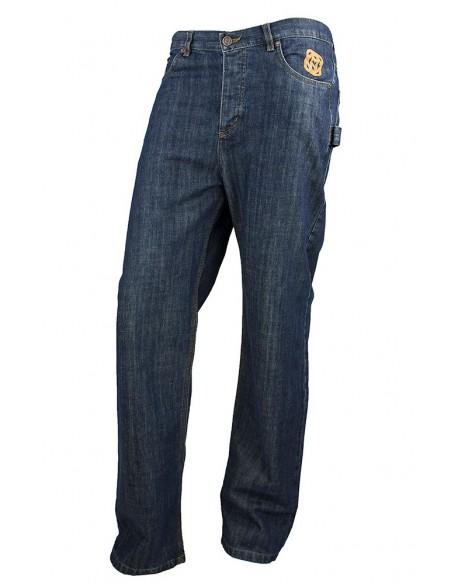 Pantalon COMUN98 KF PATCH NARANJA delante