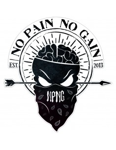 "PEGATINA NPNG ""INSANE IN THE BRAIN"""