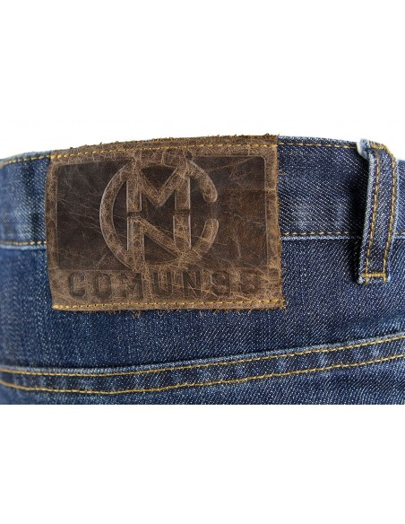 Pantalon COMUN98 KF PATCH NARANJA detalle detras 2