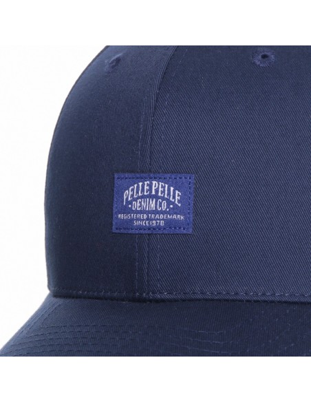 Gorra PELLE PELLE CORE LABEL CURVED NAVY