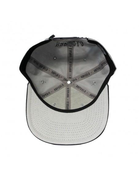 Gorra RAPSOLO BASEBALL unisex, de algodón en color gris