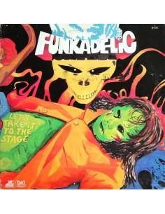 "VINILO LP FUNKADELIC ""LET'S TAKE IT TO THE STAGE"""