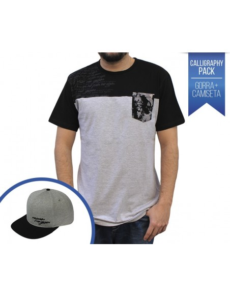 "PACK NPNG CAMISETA ""CALLIGRAPHY"" + GORRA ""CALLYGRAPHY"""