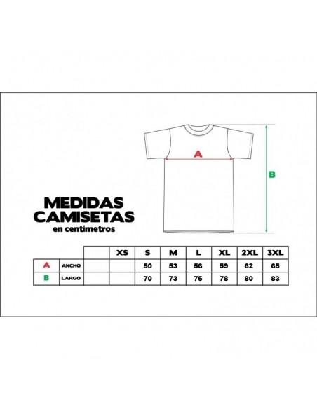 Camiseta ZGZ CIUDAD DE LEONES 2018 unisex, de algodón en color negro