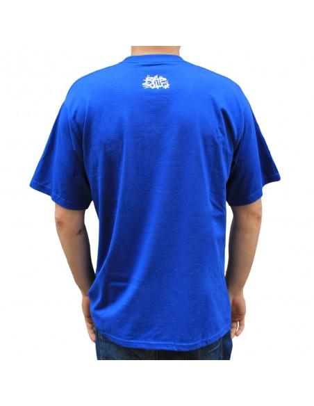 Camiseta ZGZ CIUDAD DE LEONES 2018 unisex, de algodón en color azul