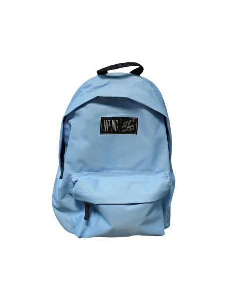Mochila bagpack NPNG SKY BLUE en polyester, color AZUL CLARO