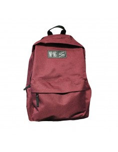 Mochila bagpack NPNG BURGUNDY en polyester, color GRANATE