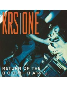 "VINILO 2LP KRS ONE ""RETURN OF THE BOOM BAP"""