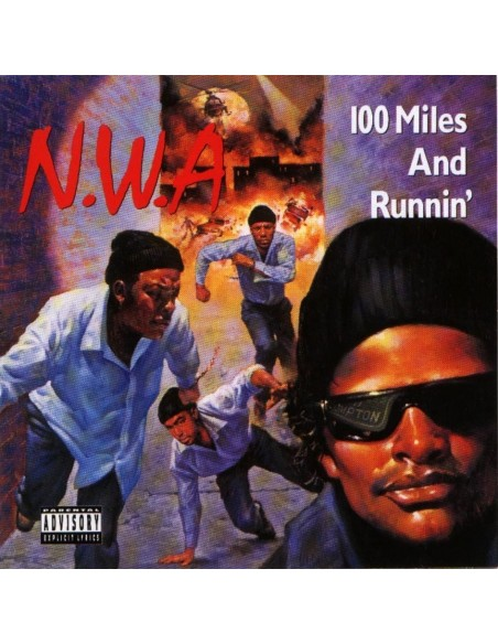 """VINILO EP N.W.A. """"100 MILES AND RUNNIN'"""""""