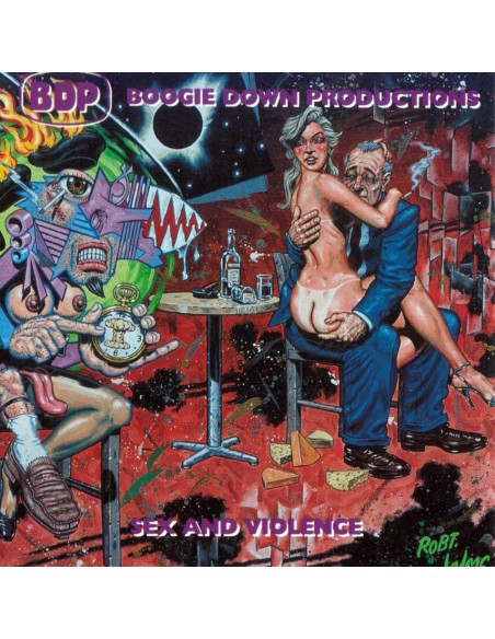 "CD BOOGIE DOWN PRODUCTIONS ""SEX AND VIOLENCE"""