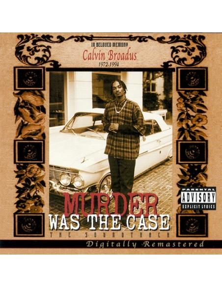 VINILO 2LP MURDER WAS THE CASE - THE SOUNDTRACK