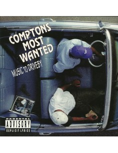 "VINILO LP COMPTON'S MOST WANTED ""MUSIC TO DRIVEBY"""